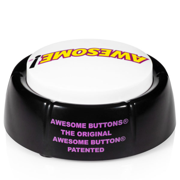 Back view of the Original Awesome Button