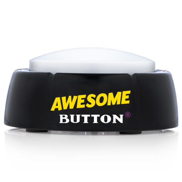 Front side of the Original Awesome Button