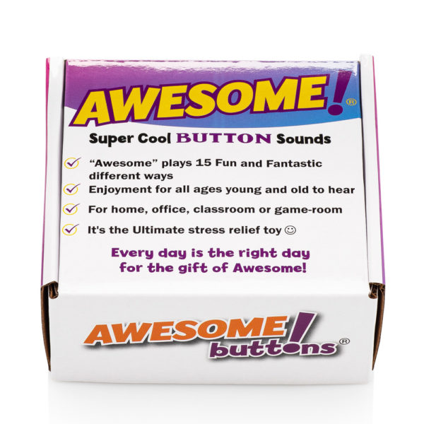 The Original Awesome Button retail box front top