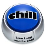 chill button desk toy