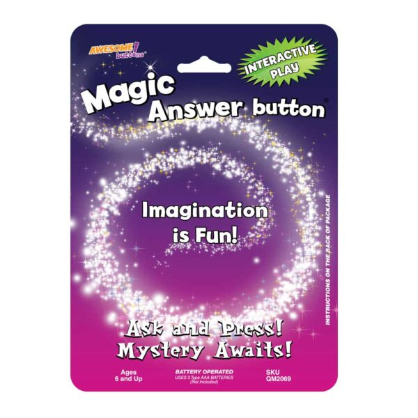 Magic Answer button®Front Package Design 2020