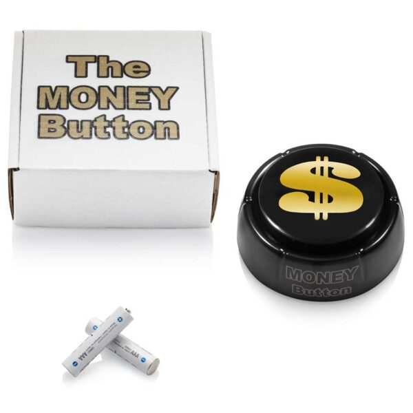 The Money Button with box and battery