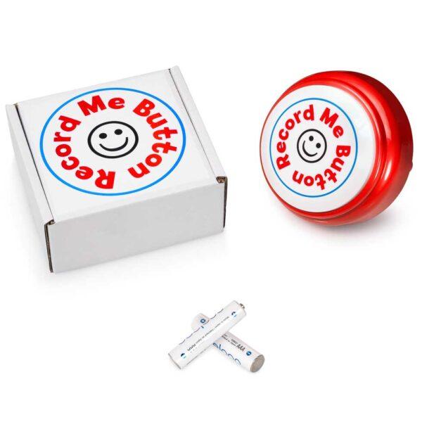 Record Me Button RED box