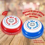 Record Me Button Cheerful Design