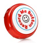 Record Me Button vertical red